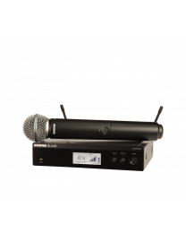 Shure BLX24R VOCAL SYSTEM WITH SM58_outlet